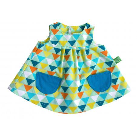 Robe motifs géométriques