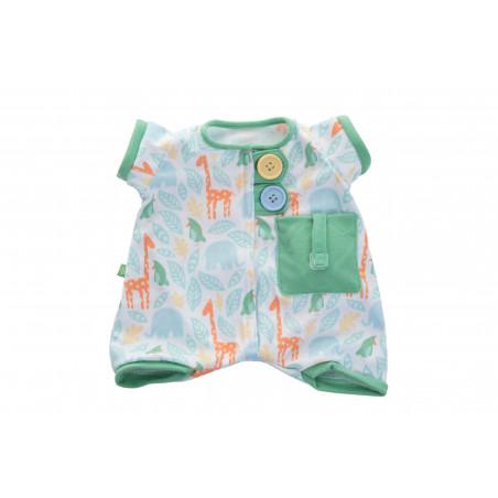 Pyjama imprimé vert