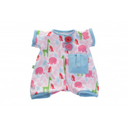 Pyjama imprimé rose